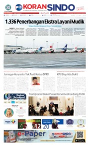 KORAN SINDO BATAM Cover 15 May 2019