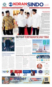 KORAN SINDO BATAM Cover 16 May 2019