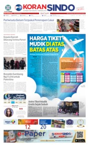 KORAN SINDO BATAM Cover 18 May 2019