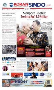 KORAN SINDO BATAM Cover 21 May 2019