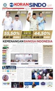 KORAN SINDO BATAM Cover 22 May 2019