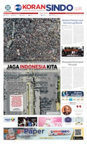KORAN SINDO BATAM Cover 23 May 2019