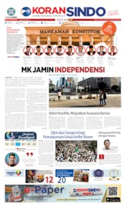 KORAN SINDO BATAM Cover 24 May 2019