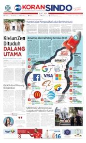 KORAN SINDO BATAM Cover 12 June 2019