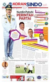 KORAN SINDO BATAM Cover 13 June 2019