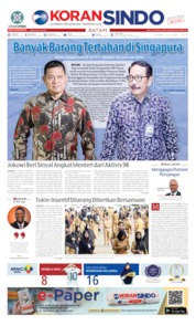 KORAN SINDO BATAM Cover 17 June 2019