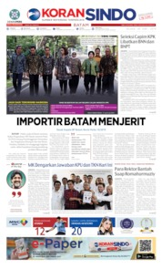 KORAN SINDO BATAM Cover 18 June 2019