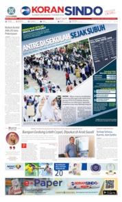 Cover KORAN SINDO BATAM 02 Juli 2019