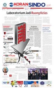Cover KORAN SINDO BATAM 03 Juli 2019