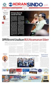 Cover KORAN SINDO BATAM 05 Juli 2019