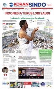 Cover KORAN SINDO BATAM 07 Juli 2019