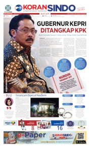 KORAN SINDO BATAM Cover 11 July 2019