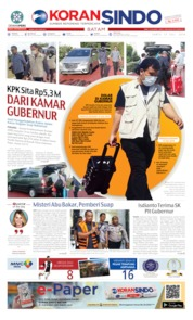 KORAN SINDO BATAM Cover 13 July 2019