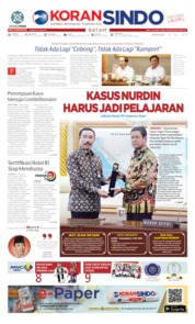 KORAN SINDO BATAM Cover 14 July 2019
