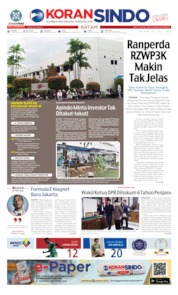 KORAN SINDO BATAM Cover 16 July 2019