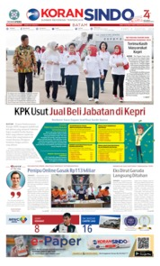 KORAN SINDO BATAM Cover 08 August 2019