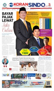 KORAN SINDO BATAM Cover 12 August 2019