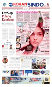 KORAN SINDO BATAM Cover 16 August 2019