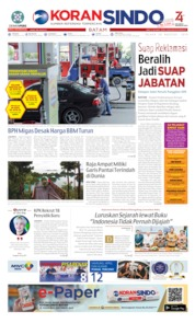 KORAN SINDO BATAM Cover 20 August 2019