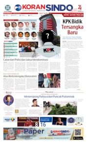 KORAN SINDO BATAM Cover 24 August 2019