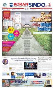Cover KORAN SINDO BATAM 26 Agustus 2019