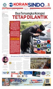 Cover KORAN SINDO BATAM 10 September 2019