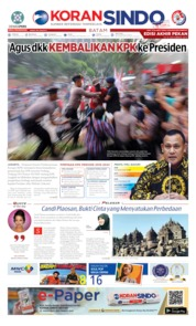 KORAN SINDO BATAM Cover 14 September 2019