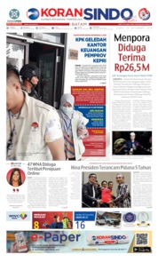 KORAN SINDO BATAM Cover 19 September 2019