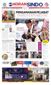 KORAN SINDO BATAM Cover 11 October 2019