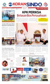KORAN SINDO BATAM Cover 12 October 2019