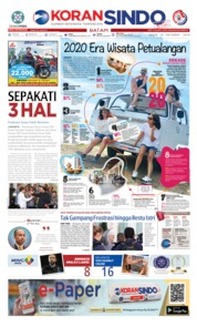 KORAN SINDO BATAM Cover 14 October 2019