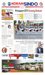 KORAN SINDO BATAM Cover 17 October 2019