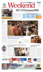 KORAN SINDO BATAM Cover 19 October 2019