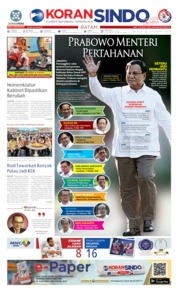 KORAN SINDO BATAM Cover 22 October 2019
