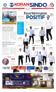 KORAN SINDO BATAM Cover 23 October 2019