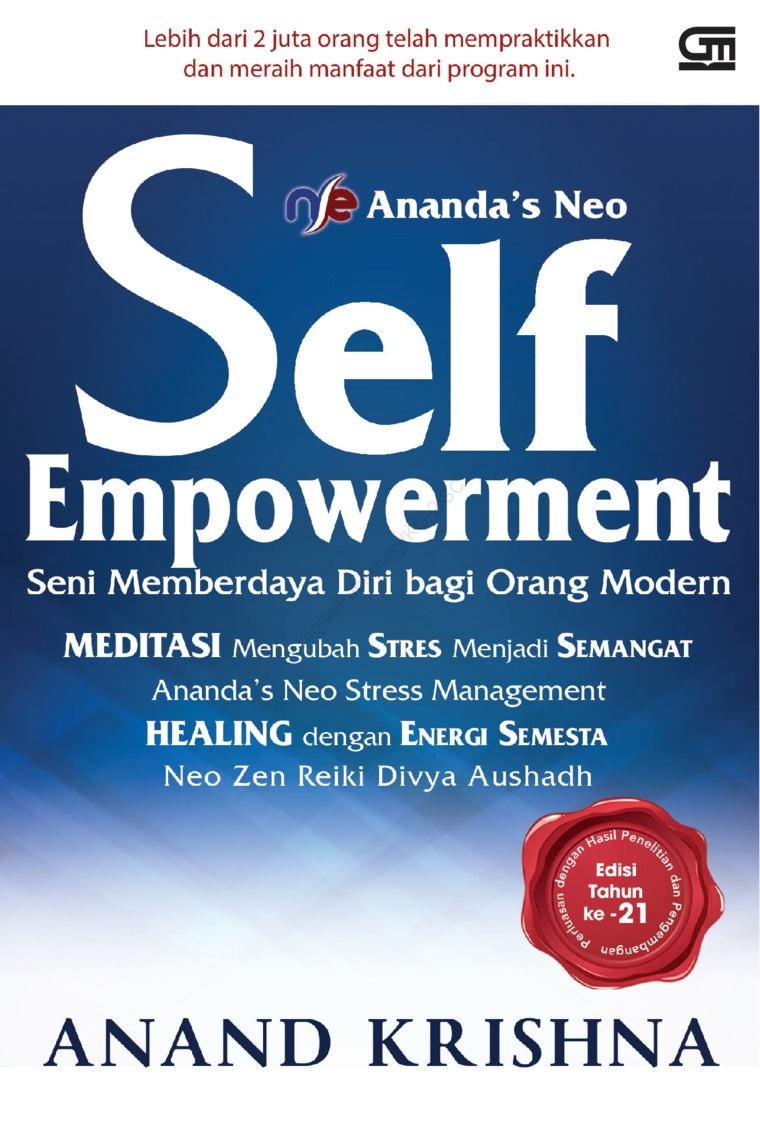 Ananda'S NEO Self Empowerment (CU) by Anand Krishna Digital Book