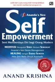 Ananda'S NEO Self Empowerment (CU) by Anand Krishna Cover