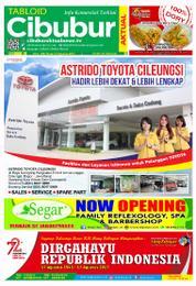 Cover Majalah Cibubur Aktual