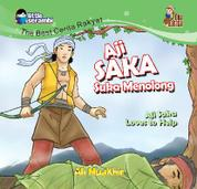Aji Saka Suka Menolong by Ali Muakhir Cover