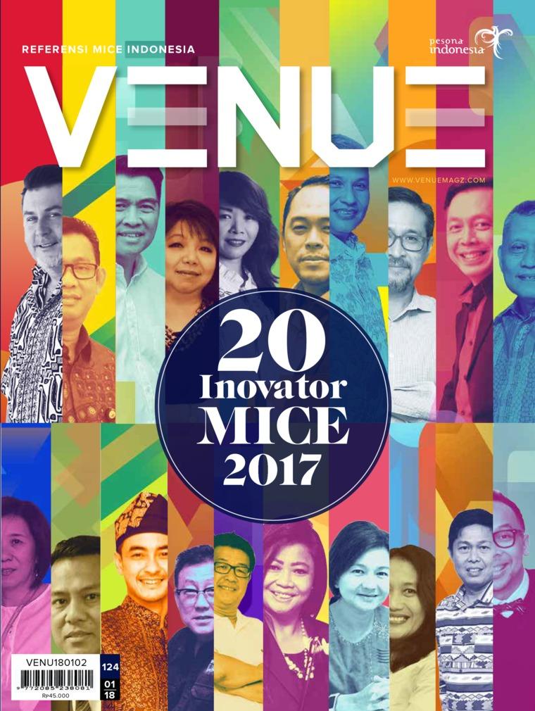 Majalah Digital VENUE ED 01 Januari 2018