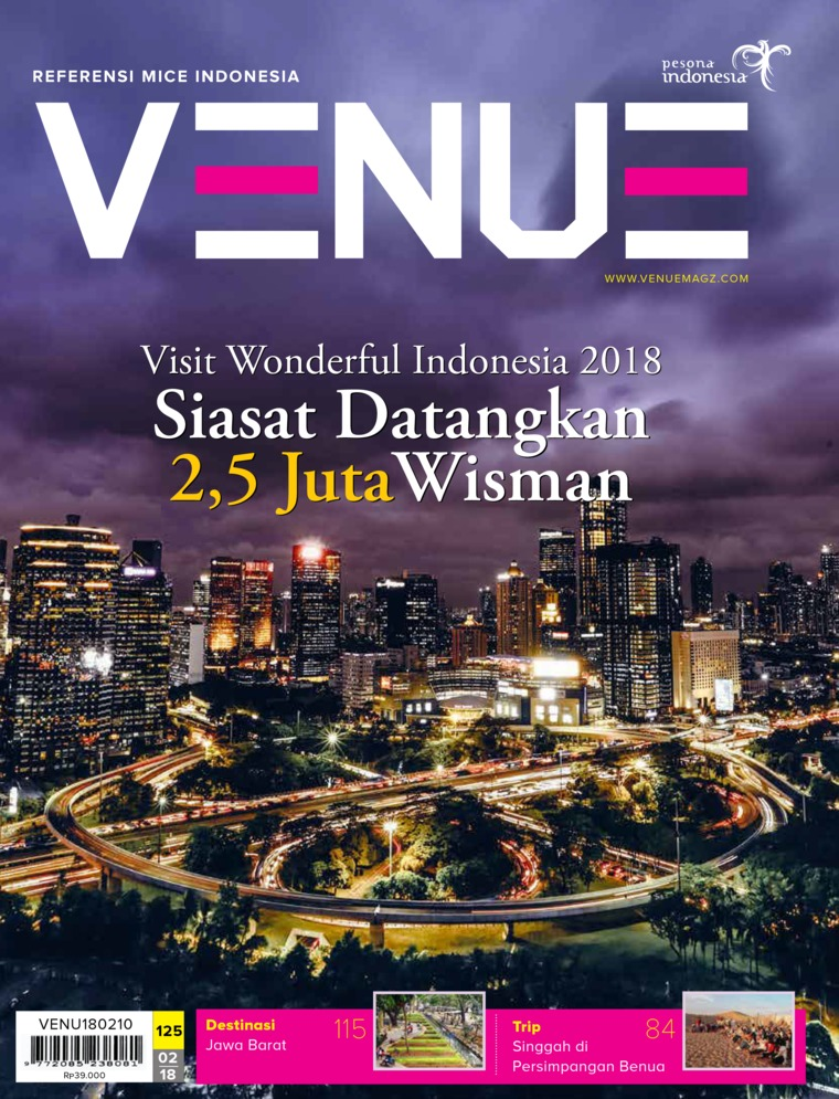 Majalah Digital VENUE ED 02 Februari 2018