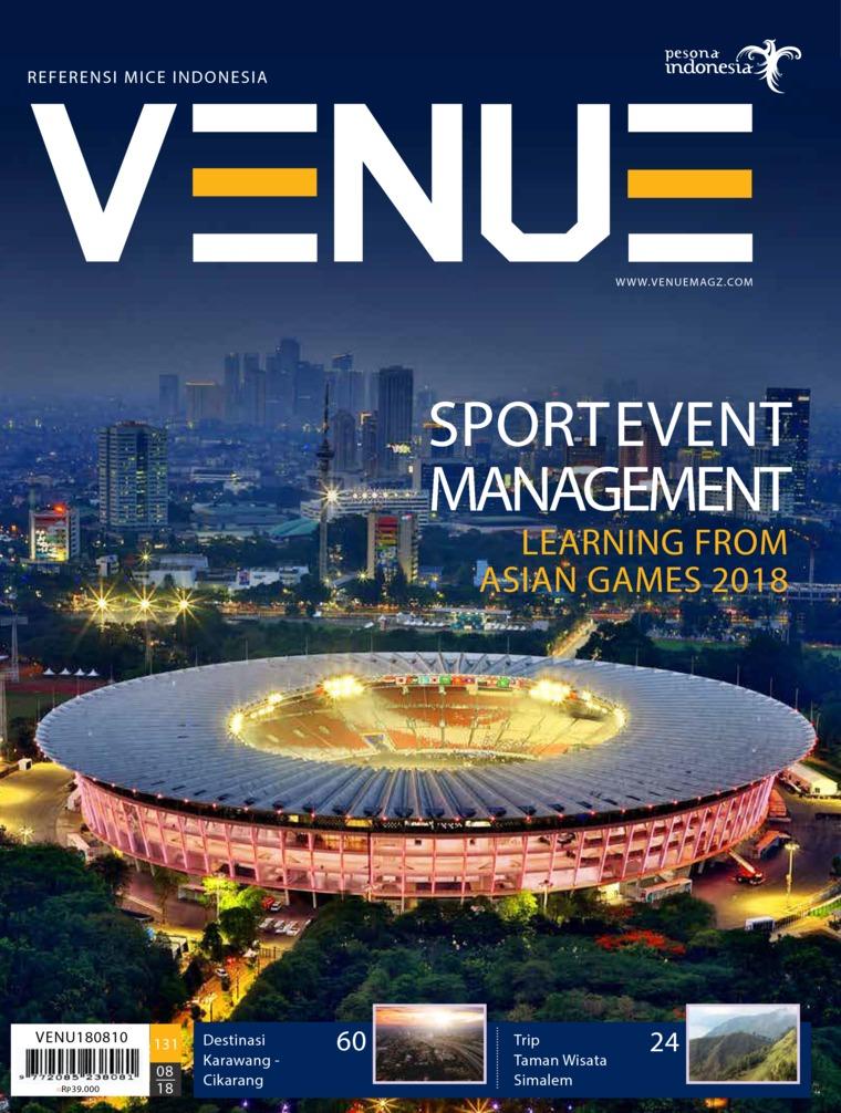 Majalah Digital VENUE ED 07 Agustus 2018