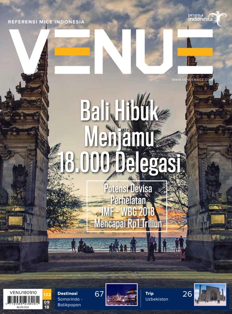 Majalah Digital VENUE ED 09 September 2018