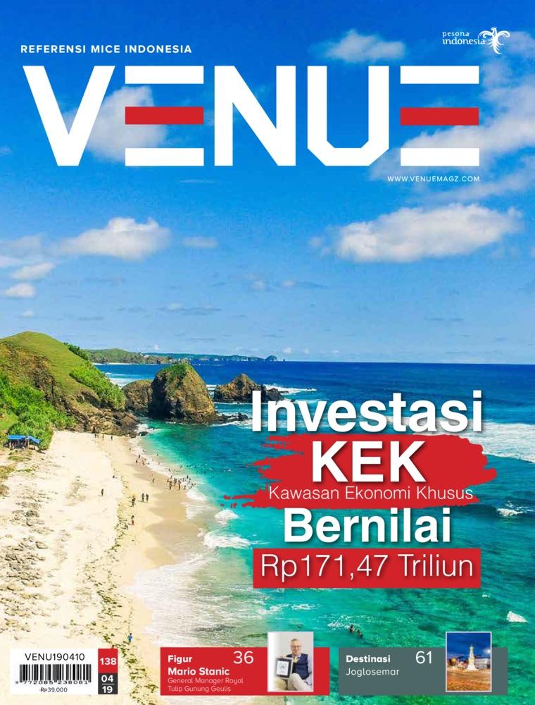 Majalah Digital VENUE ED 138 April 2019