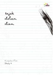 Cover Sajak Dalam Diam oleh Deddy Y