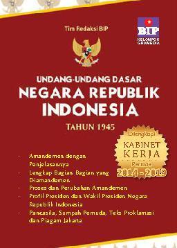 Buku Digital Undang-Undang Dasar Negara Republik Indonesia Tahun 1945 oleh Tim BIP