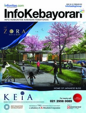 InfoKebayoran Magazine Cover February 2018