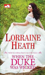 HR: When the Duke Was Wicked by Lorraine Heath Cover