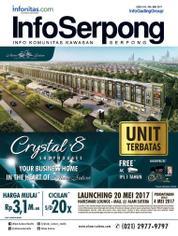 Cover Majalah InfoSerpong Mei 2017