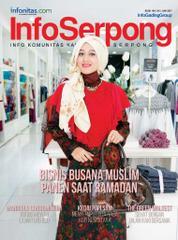 Cover Majalah InfoSerpong Juni 2017